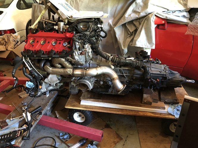 RS5 Motor and Tranny